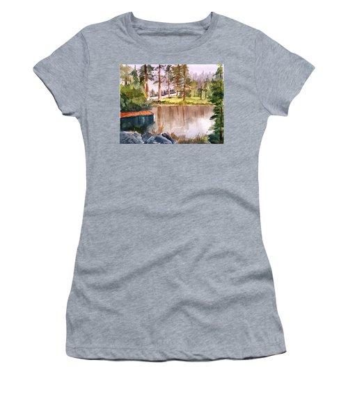 Nez Perce Lake Women's T-Shirt