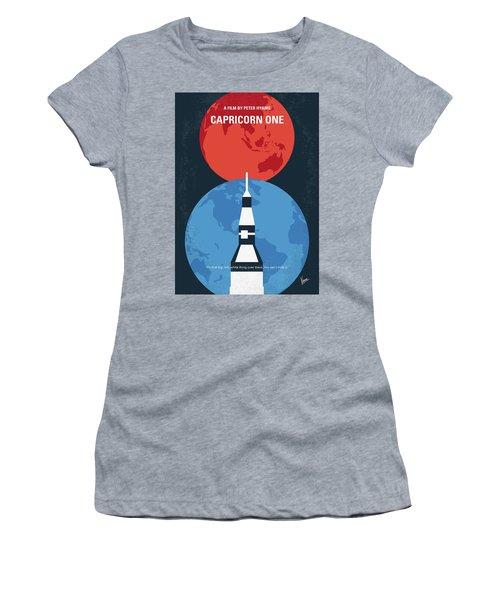 No1078 My Capricorn One Minimal Movie Poster Women's T-Shirt