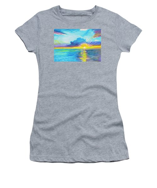 Ocean In The Morning Women's T-Shirt