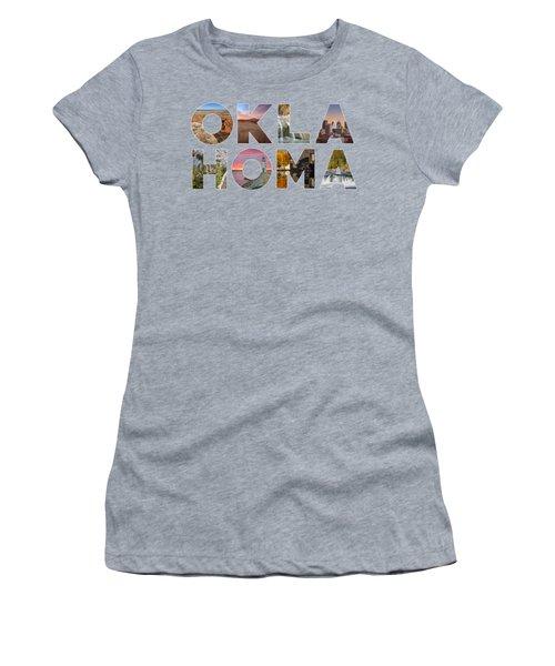 Oklahoma Typography II Women's T-Shirt