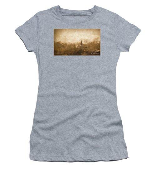 Old Church On A Hill  Women's T-Shirt