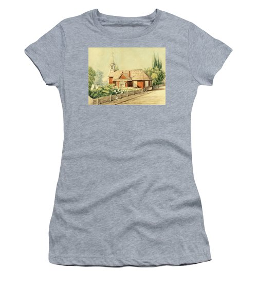Old Swedes' Church, Southwark, Philadelphia Women's T-Shirt