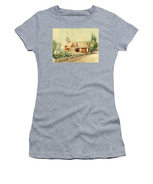 Old Swedes' Church, Southwark, Philadelphia Women's T-Shirt