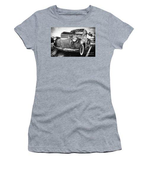 Old Truck  - Painterly Women's T-Shirt