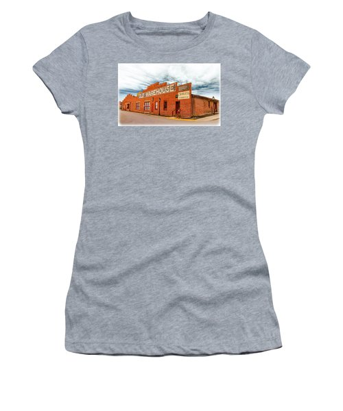 Old Warehouse In Farmville Virginia Women's T-Shirt
