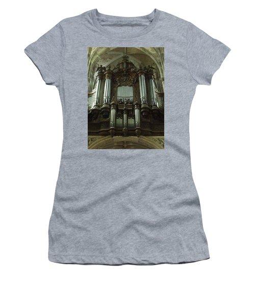 Women's T-Shirt featuring the photograph Organ by JLowPhotos