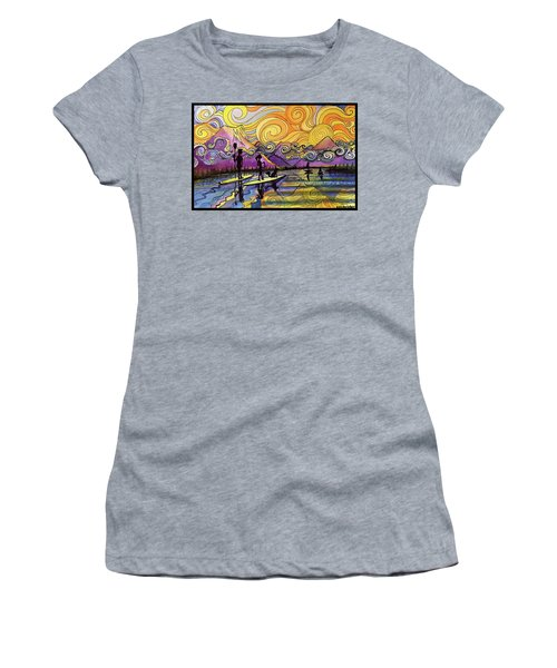 Paddleboarders Frisco Colorado Women's T-Shirt