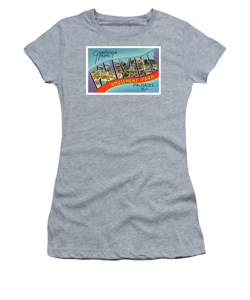 Palisades Amusement Park Greetings Women's T-Shirt