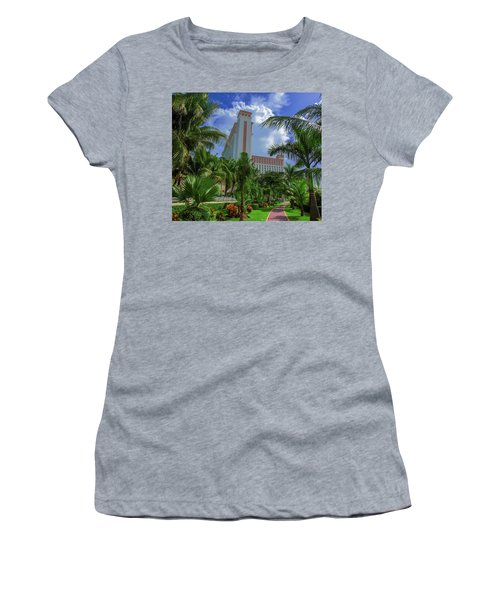 Palms At The Riu Cancun Women's T-Shirt