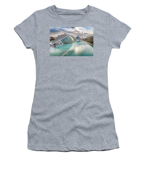 Panoramic Cinema In The City Of Sciences Of Valencia, Spain, Vis Women's T-Shirt
