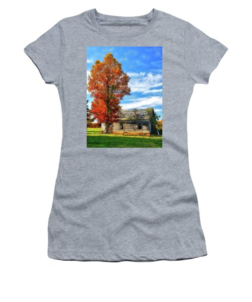Past Its Prime Vintage Autumn Barn Ap Women's T-Shirt (Athletic Fit)