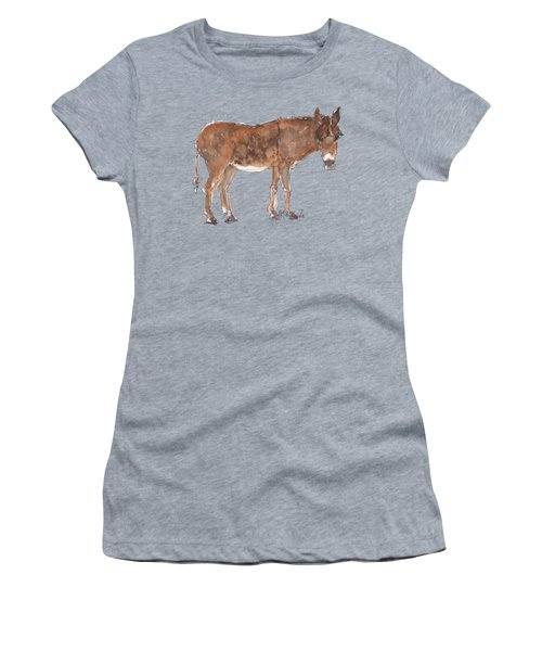 Pasture Boss 2015 Watercolor Painting By Kmcelwaine Women's T-Shirt