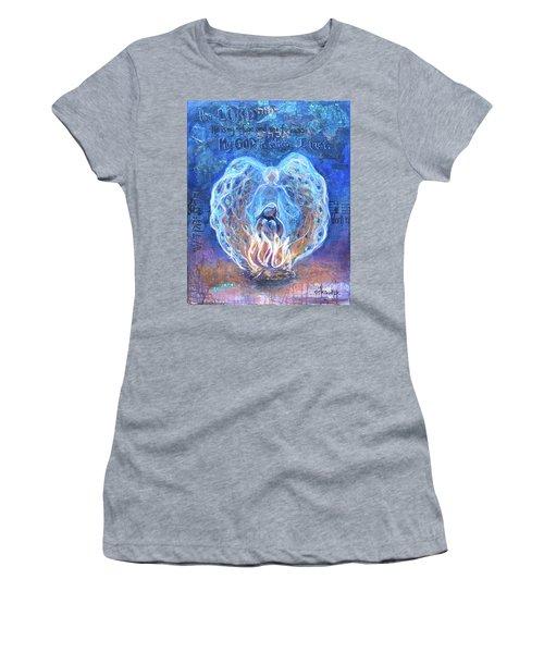 Peacock Angel    Cooler Version Women's T-Shirt
