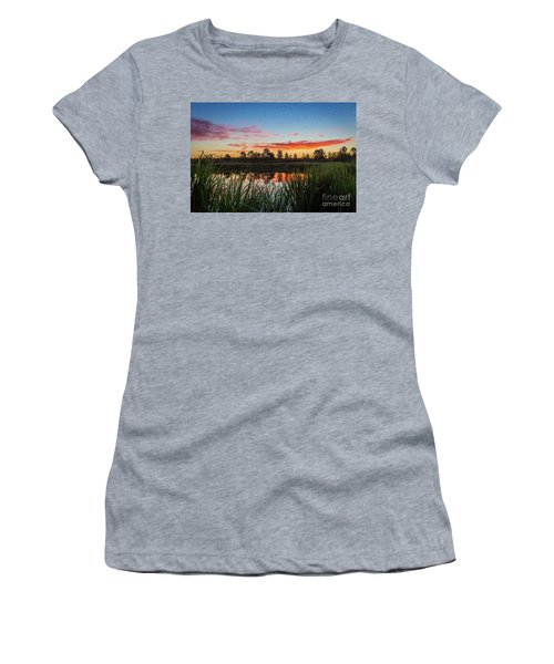Phinizy Swamp Sunrise - Augusta Ga Women's T-Shirt