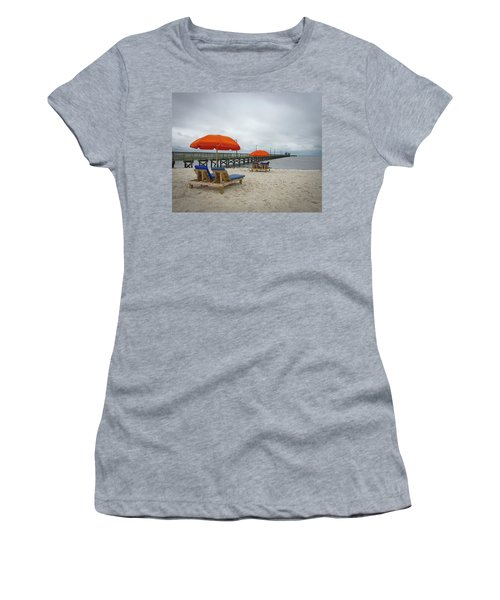 Women's T-Shirt featuring the photograph Pier by Jim Mathis
