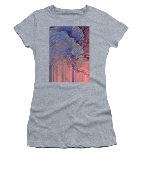 Pink, Blue And Purple Women's T-Shirt
