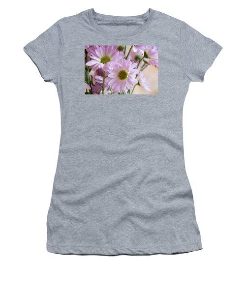 Pink Daisies-1 Women's T-Shirt