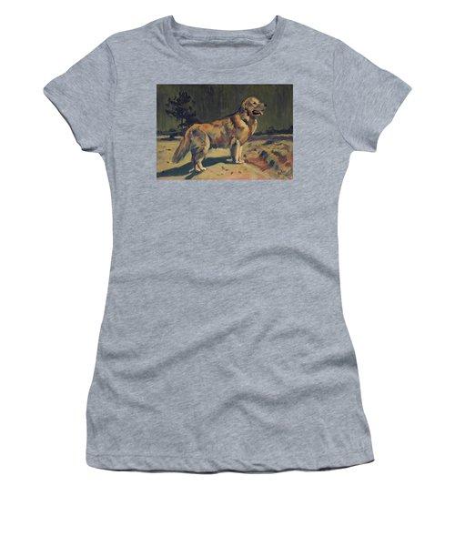 Pixel In The Dunes Of Loon Op Zand Women's T-Shirt