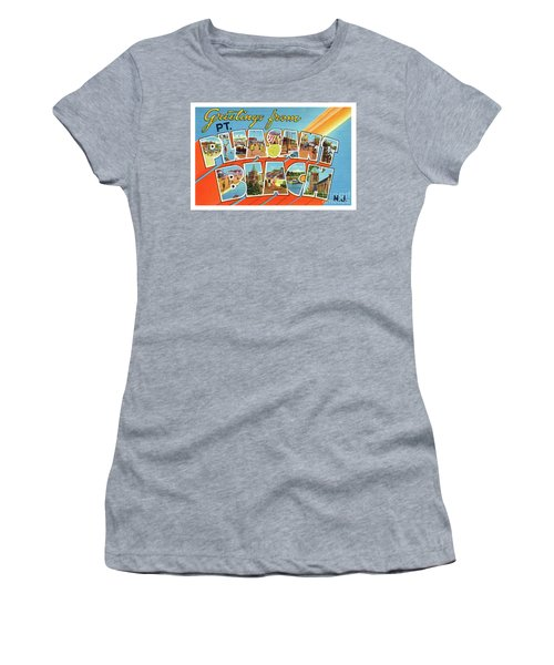 Point Pleasant Beach Greetings Women's T-Shirt