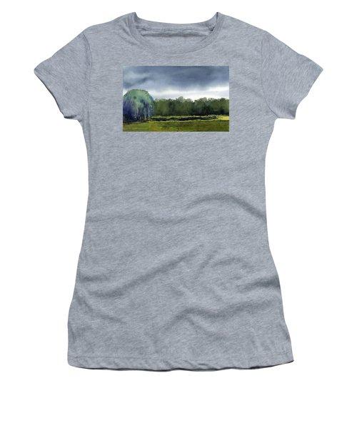 Pond At Taliesin Women's T-Shirt