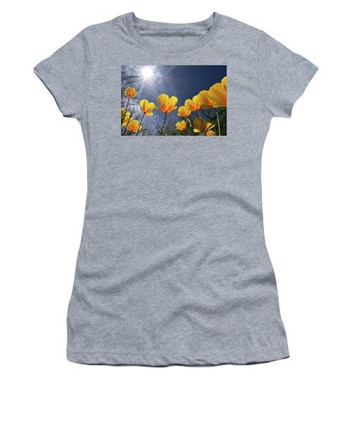 Poppies Enjoy The Sun Women's T-Shirt