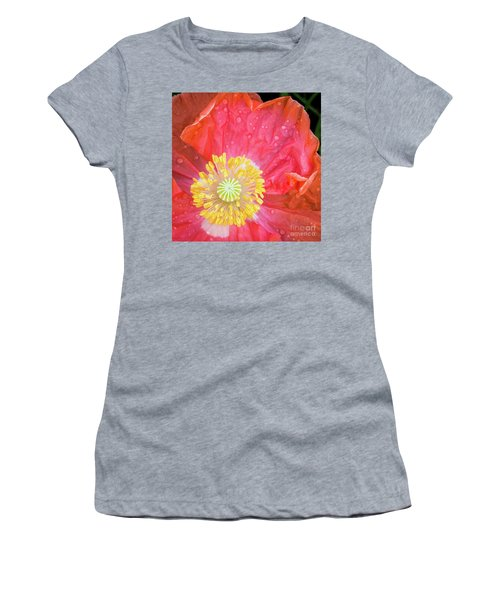 Poppy Closeup Women's T-Shirt