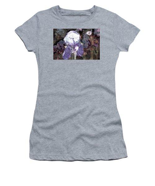 Purple Bearded Iris Women's T-Shirt