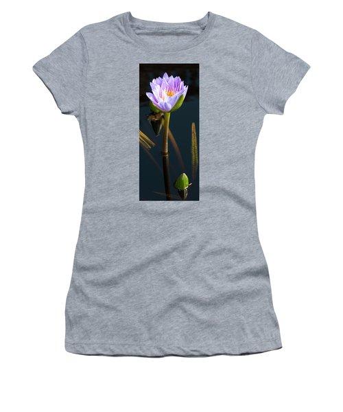 Purple Elegance Women's T-Shirt