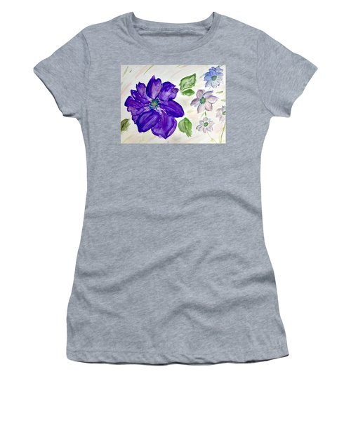 Purple Flower Women's T-Shirt