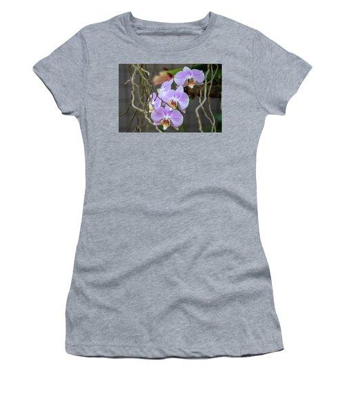 Purple Orchids Women's T-Shirt