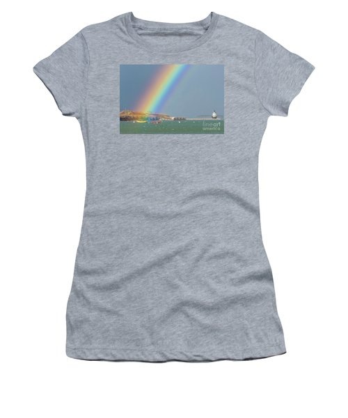 Rainbow At Spring Point Ledge Women's T-Shirt