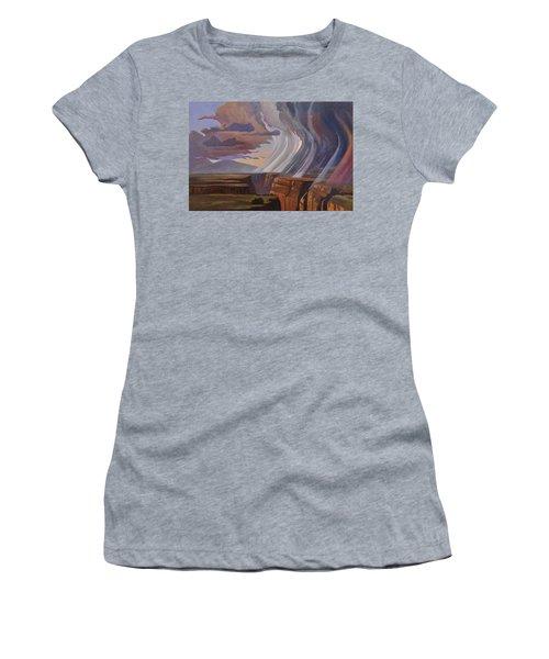 Rainbow Of Rain Women's T-Shirt