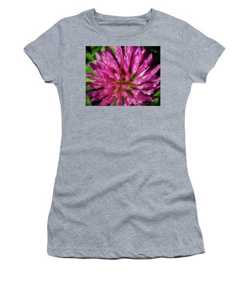 Red Clover Flower Women's T-Shirt