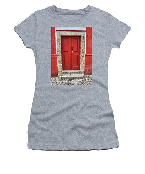 Red Door Nine Of Obidos Women's T-Shirt