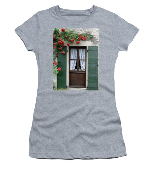 Red Rose Door Women's T-Shirt