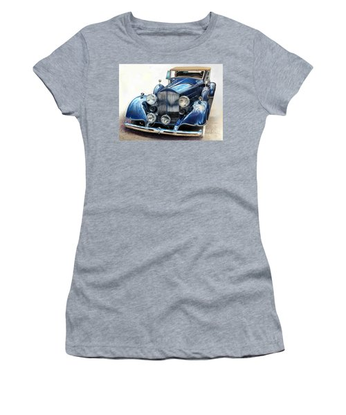 Reflection On Blue Women's T-Shirt