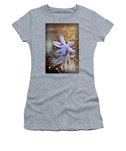 Women's T-Shirt featuring the photograph Reflections Of Joy by Michelle Wermuth