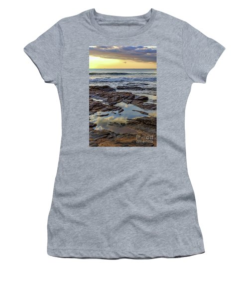 Reflections On The Rocks Women's T-Shirt