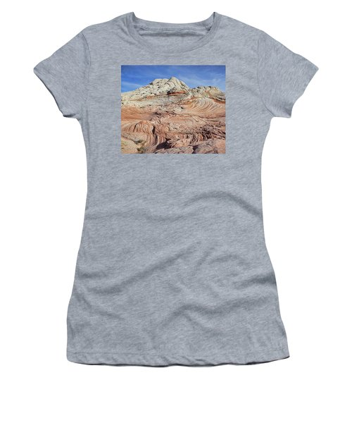 Women's T-Shirt (Athletic Fit) featuring the photograph Remnants Of A Distant Past by Theo O'Connor