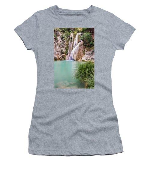 River Neda Waterfalls Women's T-Shirt