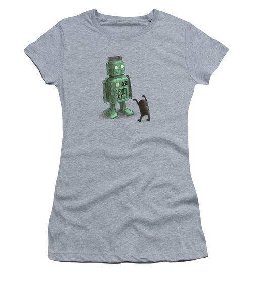Robot Vs Alien Women's T-Shirt