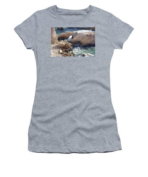 Rocks At Montana De Oro Women's T-Shirt