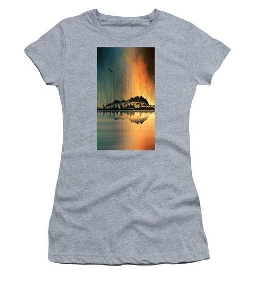 Rocky Mountain Sunrise Women's T-Shirt