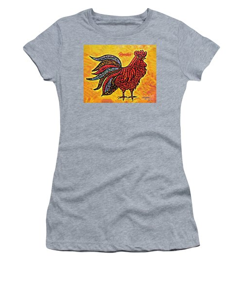 Rooster In The Moring Women's T-Shirt