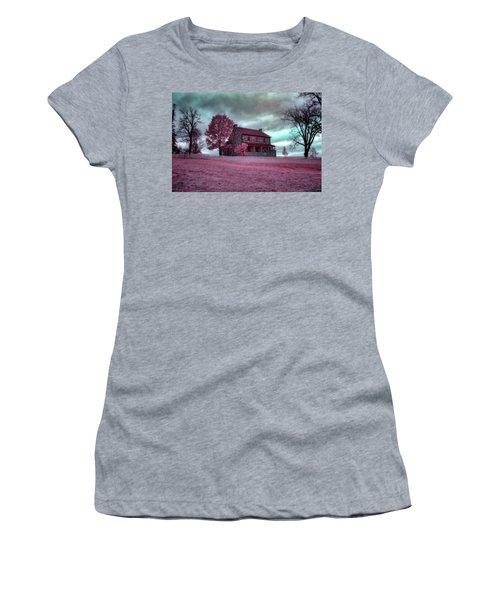 Rose Farm In Infrared Women's T-Shirt