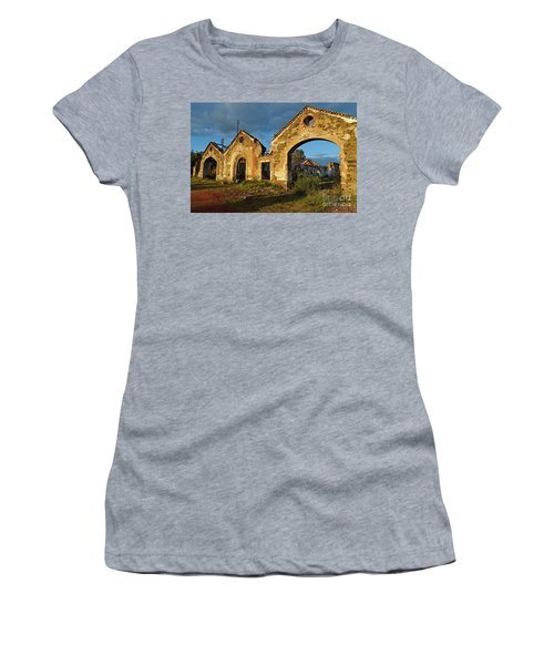 Ruins Of The Abandoned Mine Of Sao Domingos. Portugal Women's T-Shirt