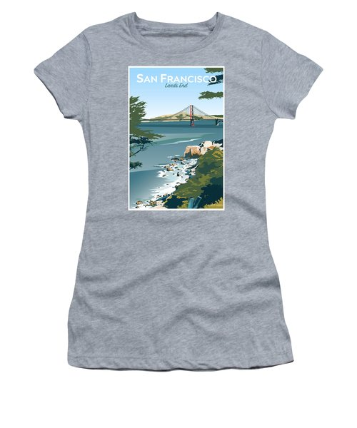San Francisco Lands End Women's T-Shirt