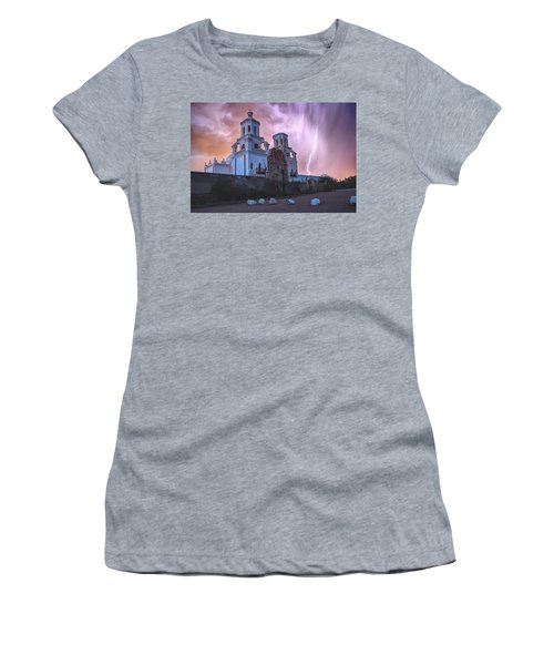 San Xavier Mission Lightning Women's T-Shirt