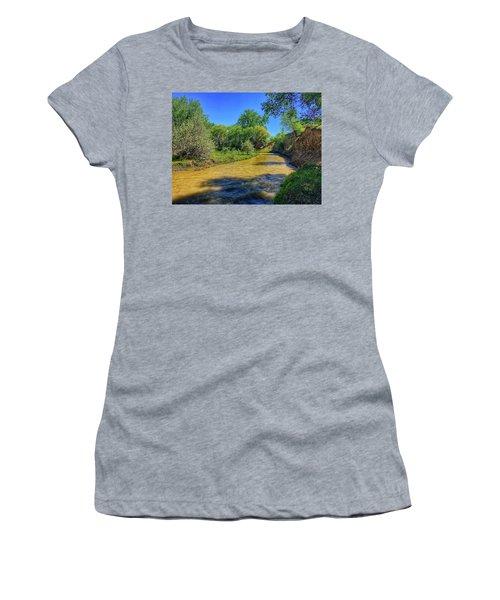 Women's T-Shirt featuring the photograph Sandhills Summer by Dan Miller