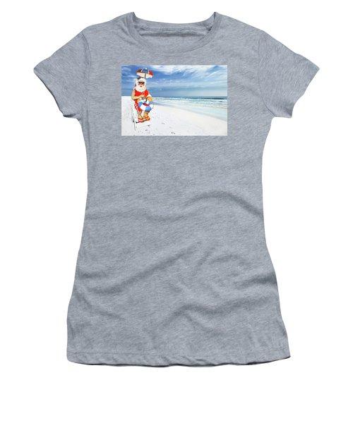 Santa Lifeguard Women's T-Shirt